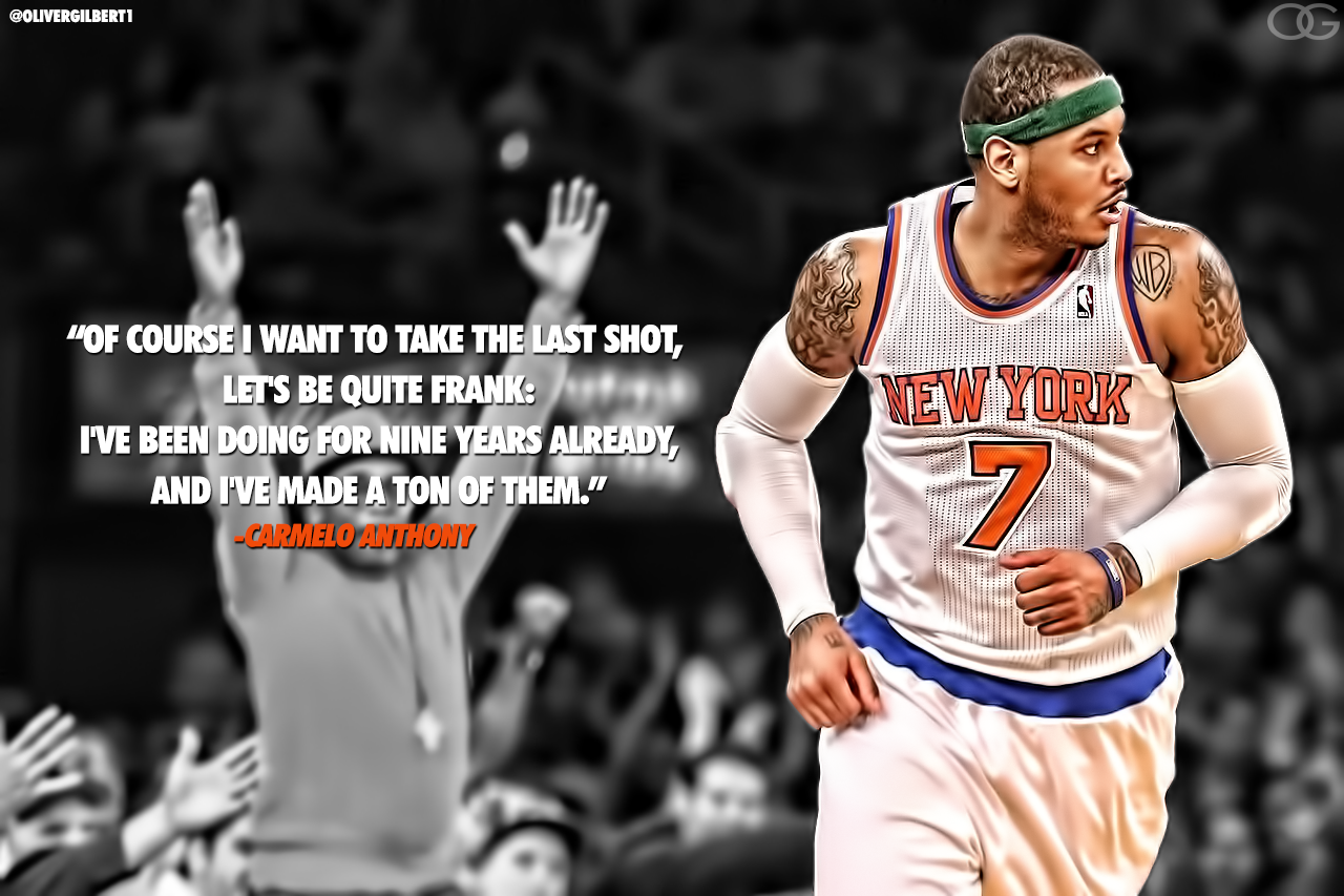 Carmelo Anthony's quote #5
