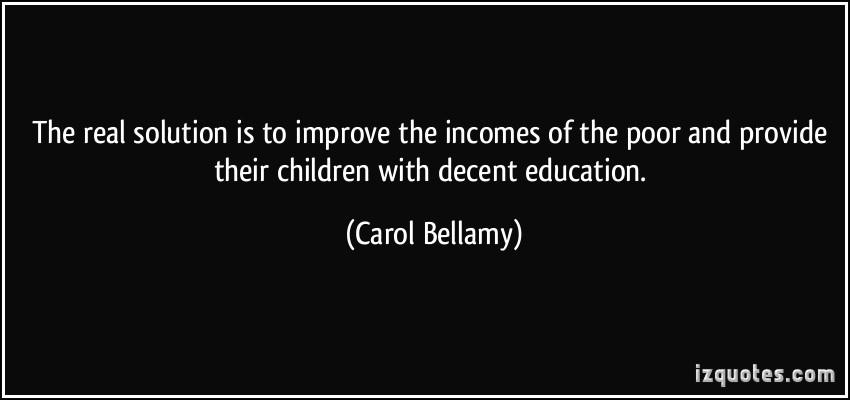 Carol Bellamy's quote #2