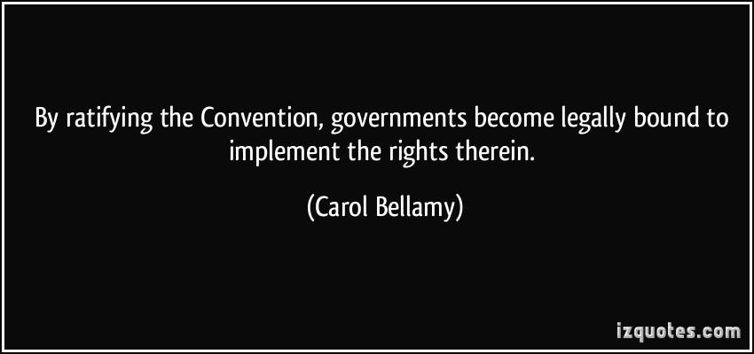 Carol Bellamy's quote #5