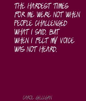 Carol Gilligan's quote #5