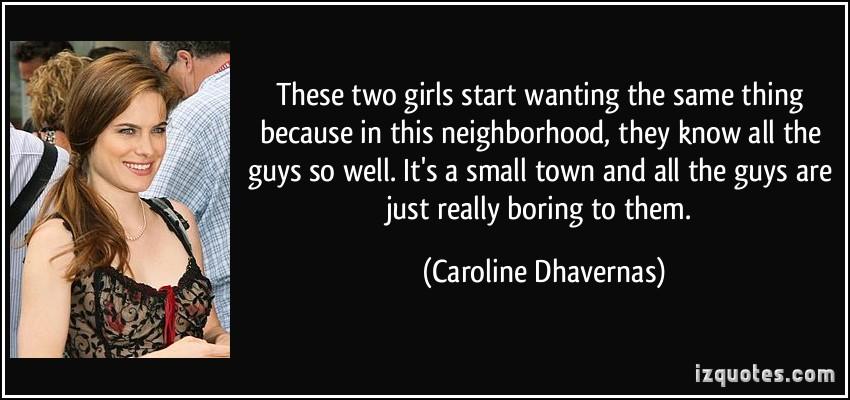 Caroline Dhavernas's quote #1