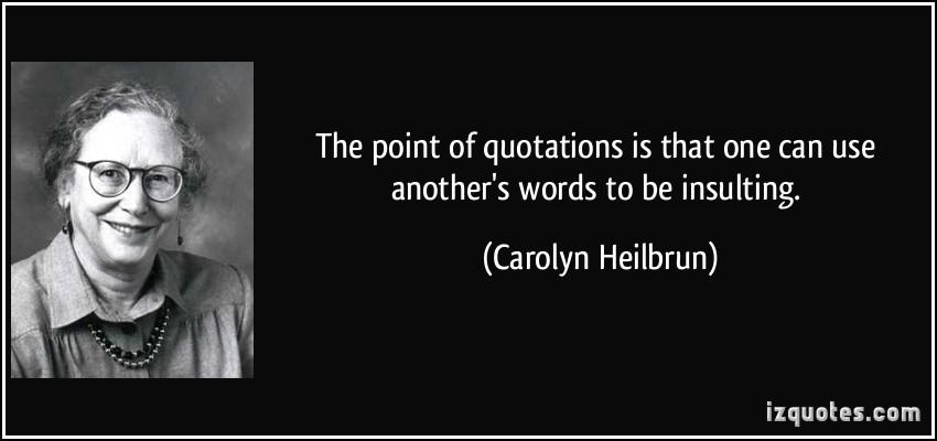 Carolyn Heilbrun's quote #7