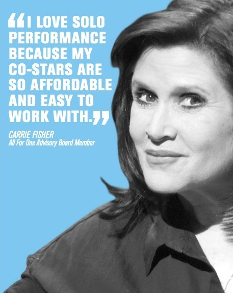 Carrie Fisher's quote #1
