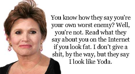 Carrie Fisher's quote #4