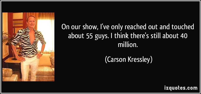 Carson Kressley's quote #8