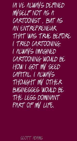 Cartooning quote #2