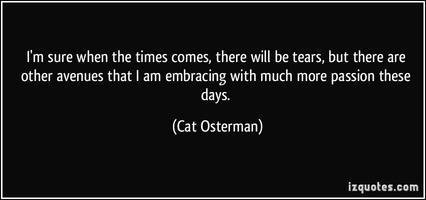 Cat Osterman's quote #4