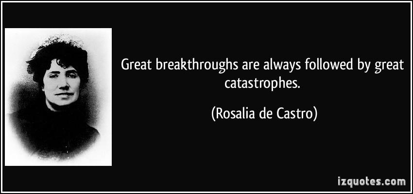 Catastrophes quote #2