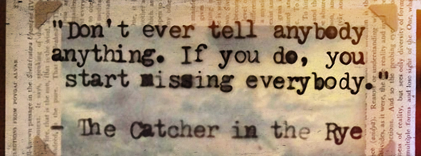Catcher In The Rye quote #2
