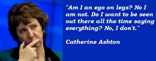 Catherine Ashton's quote #1