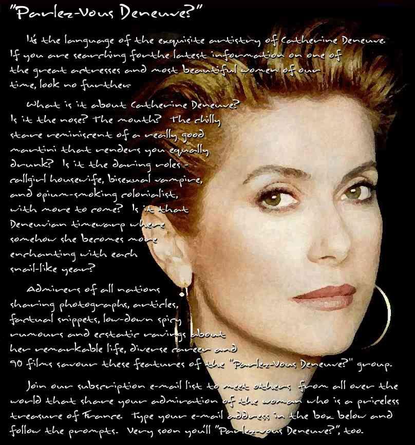 Catherine Deneuve's quote #3