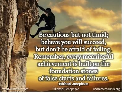 Cautious quote #1