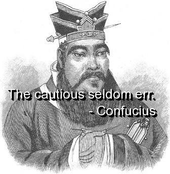 Cautious quote #5