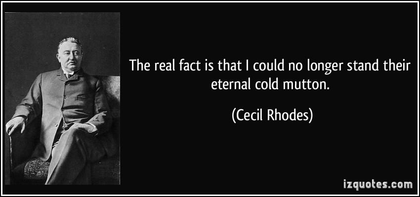 Cecil Rhodes's quote #3