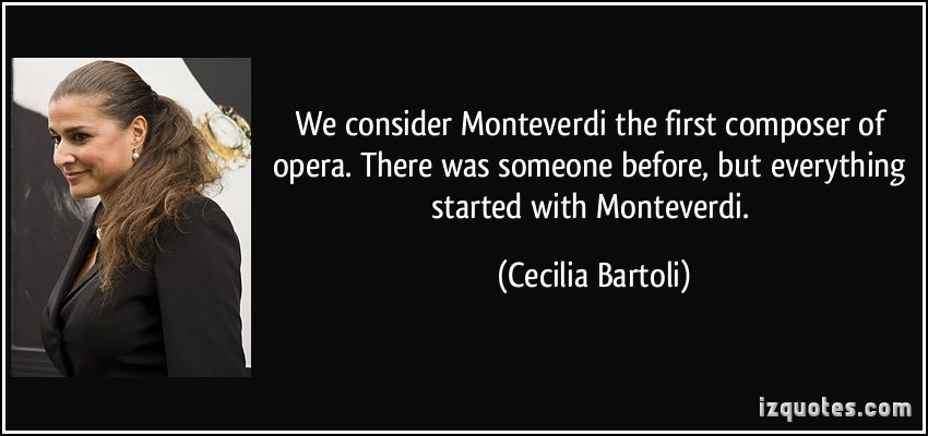 Cecilia Bartoli's quote #1