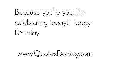 Celebrating quote #1