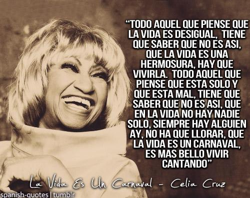 Celia Cruz's quote #1