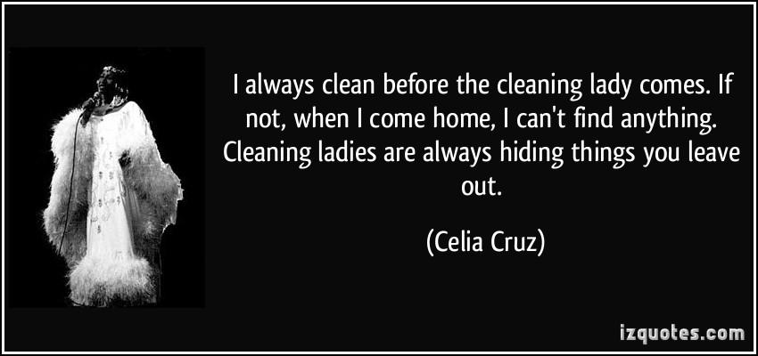 Celia Cruz's quote #2
