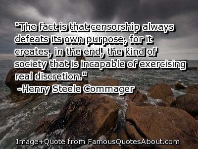 Censorship quote #3