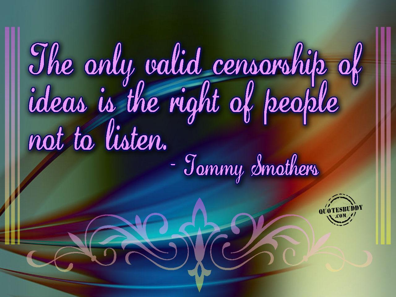Censorship quote #7