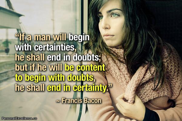 Certainties quote #2