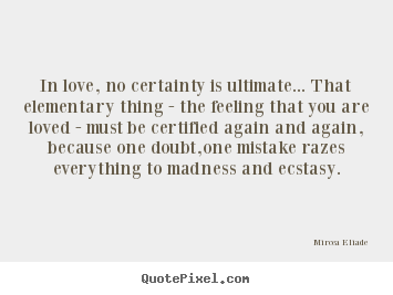 Certainty quote #1