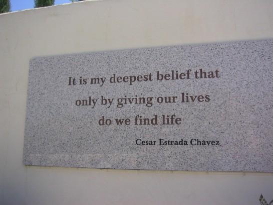 Cesar Chavez's quote #1
