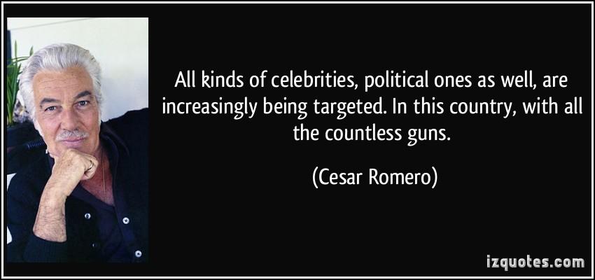 Cesar Romero's quote #1