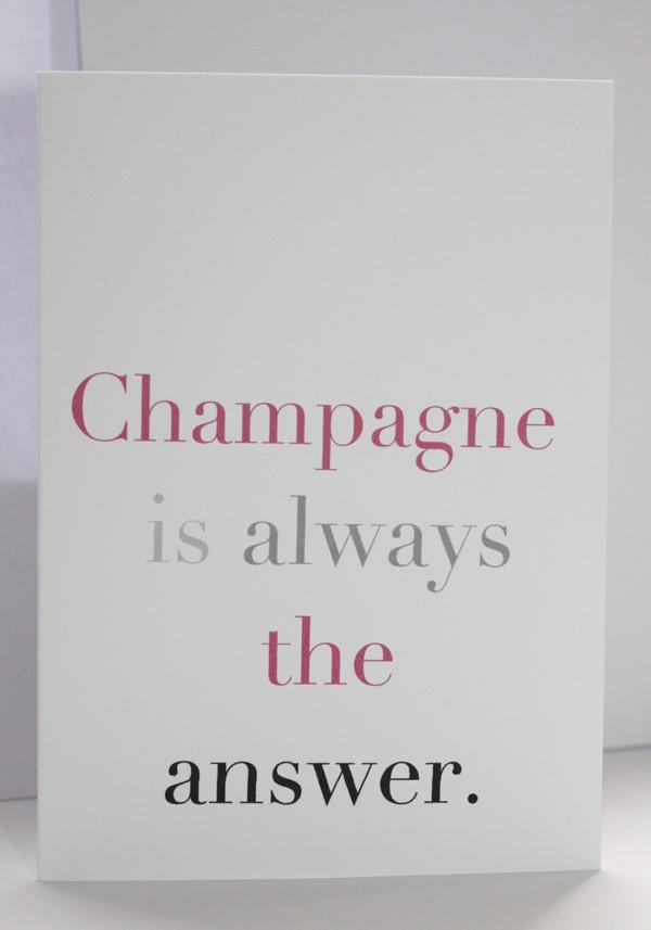 Champagne quote #3