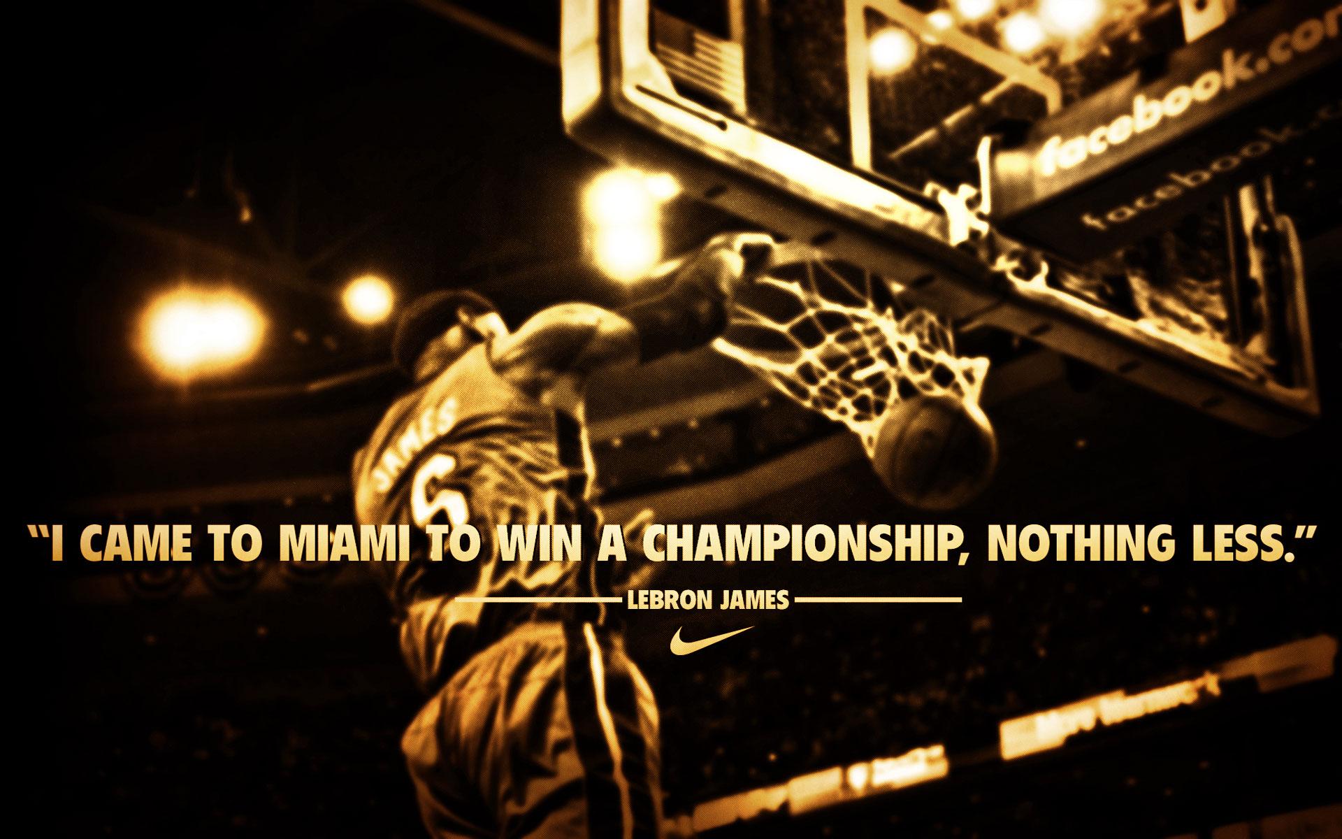Champion quote #1