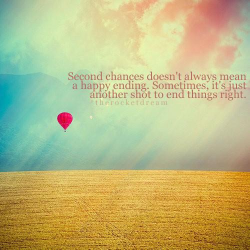 Chances quote #1