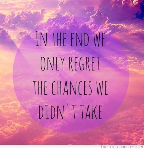 Chances quote #8