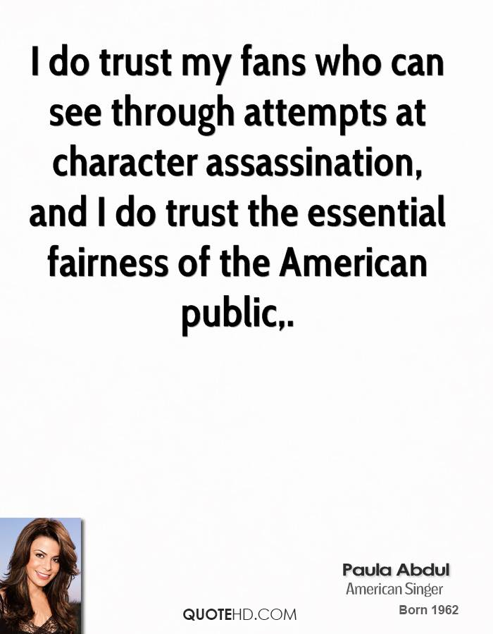 Character Assassination quote #1