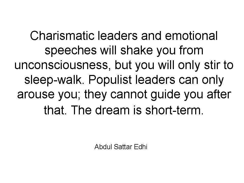 Charismatic quote #2