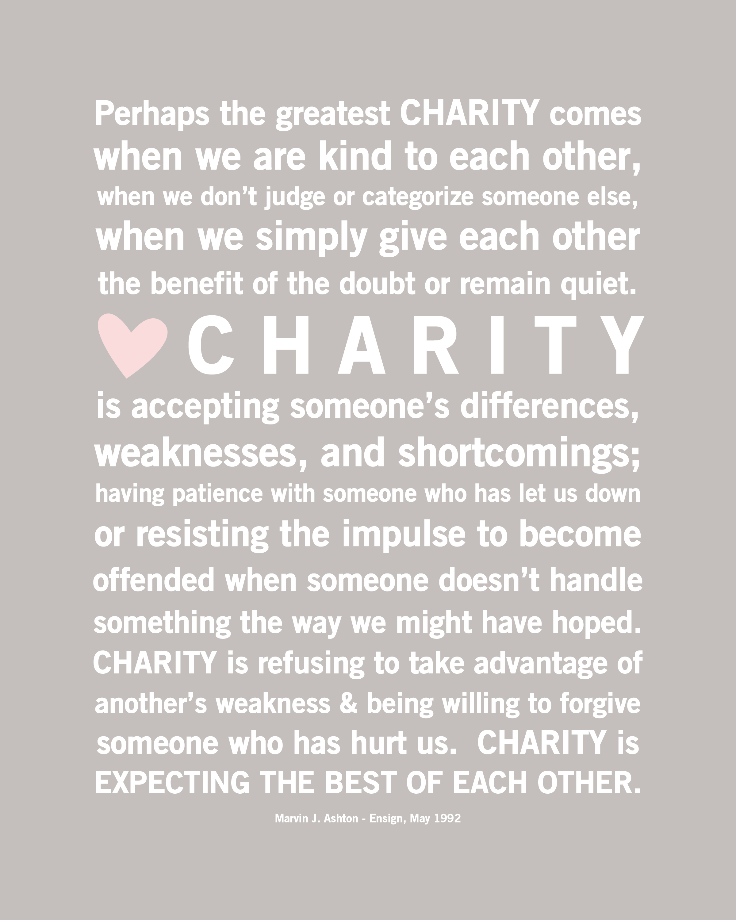 Charity quote #5