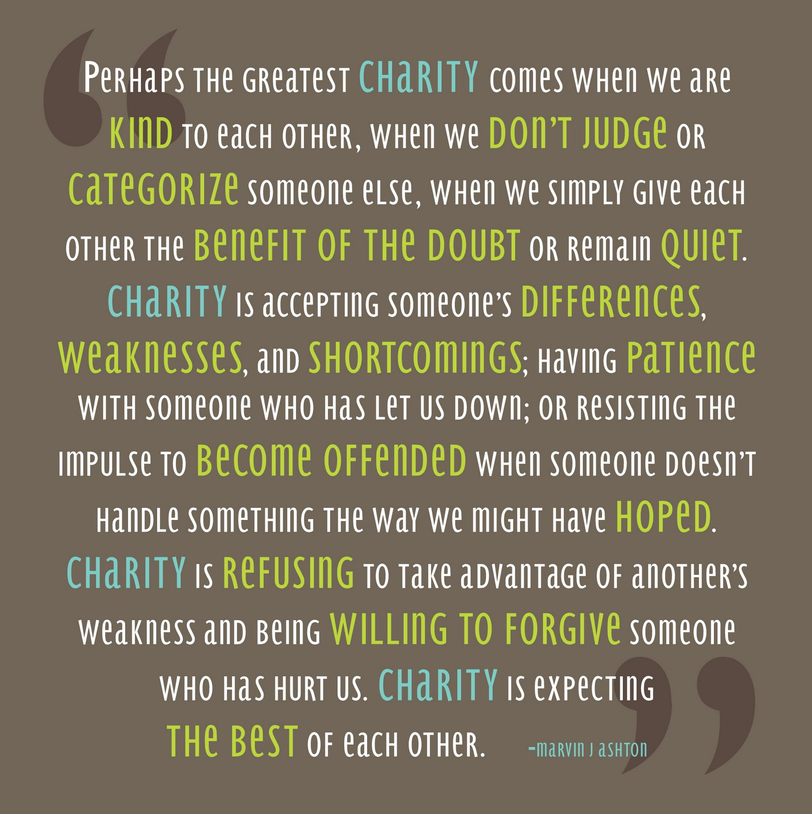 Charity quote #6