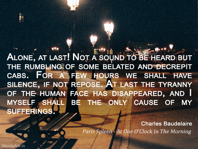 Charles Baudelaire's quote #1