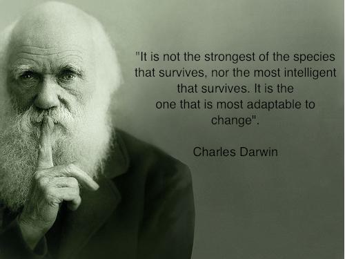 Charles Darwin's quote #2