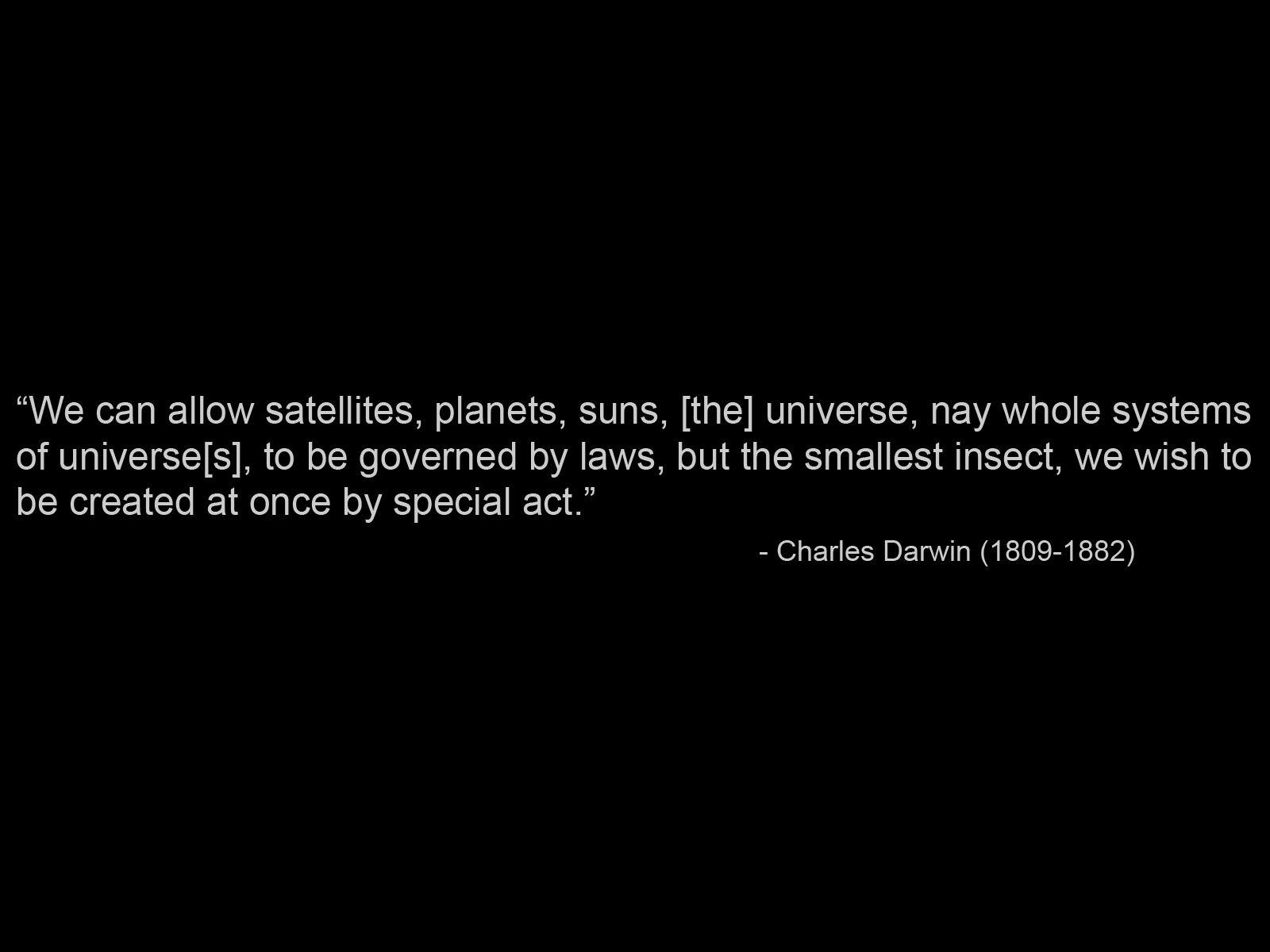 Charles Darwin's quote #1