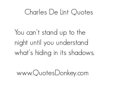 Charles de Lint's quote #4