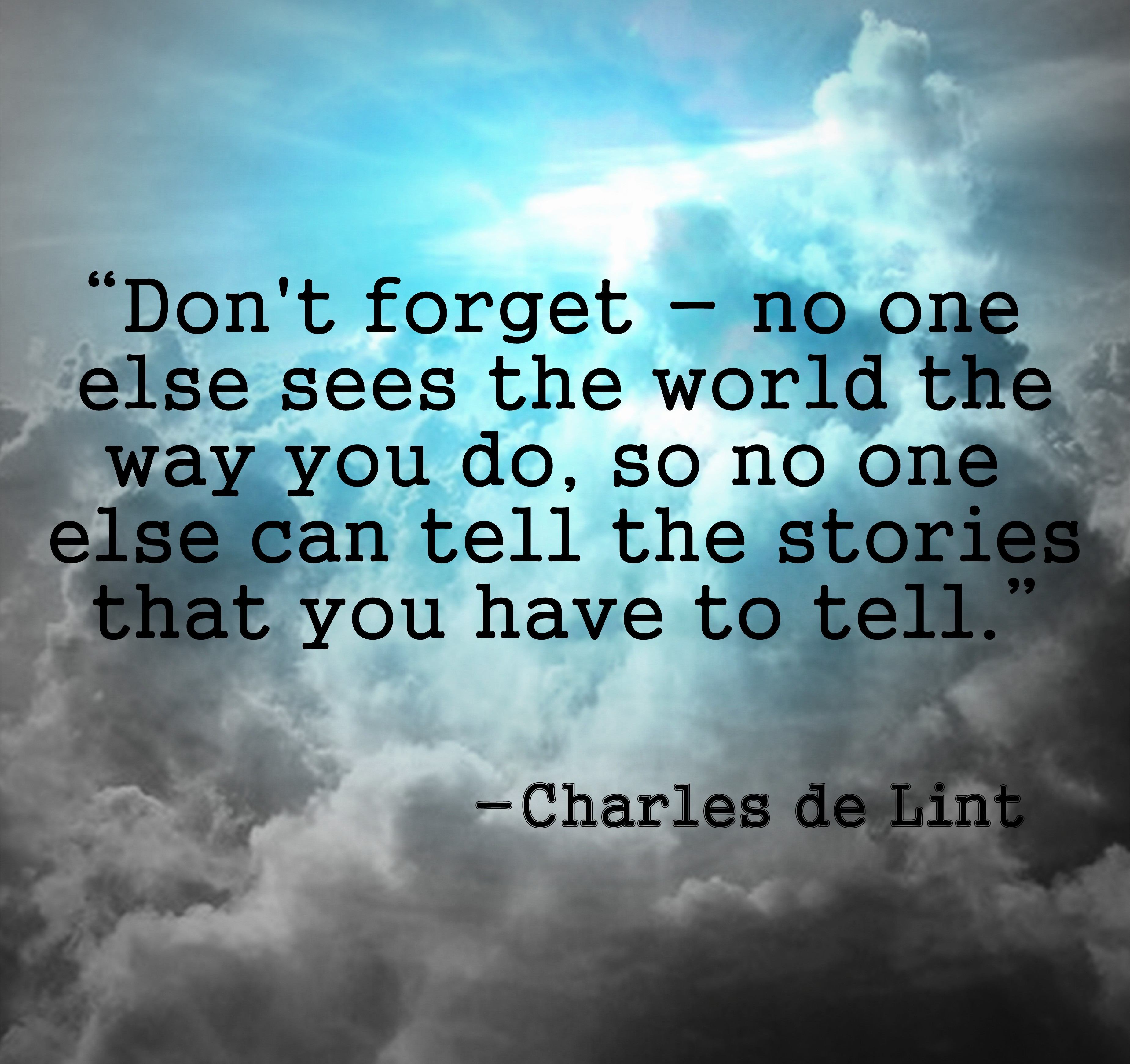 Charles de Lint's quote #1