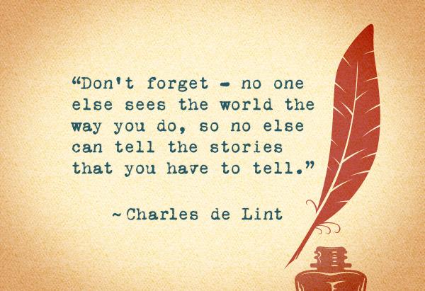 Charles de Lint's quote #2