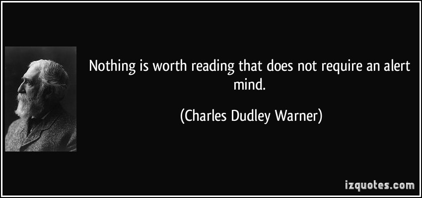 Charles Dudley Warner's quote #5