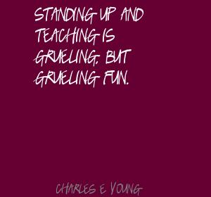 Charles E. Young's quote #1