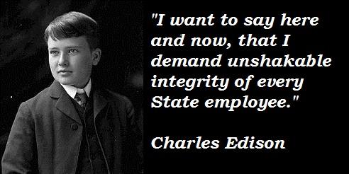 Charles Edison's quote #4