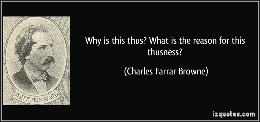 Charles Farrar Browne's quote #1