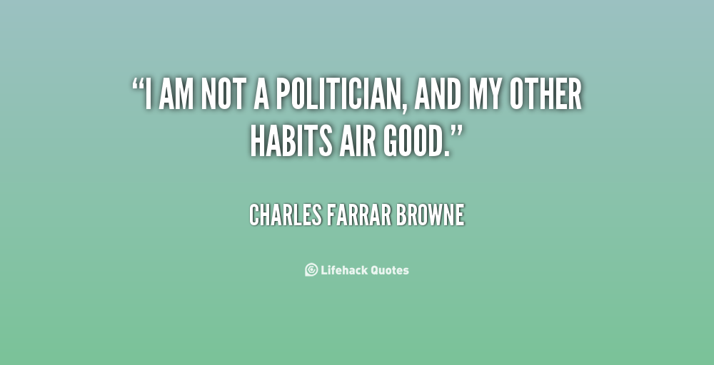 Charles Farrar Browne's quote #3