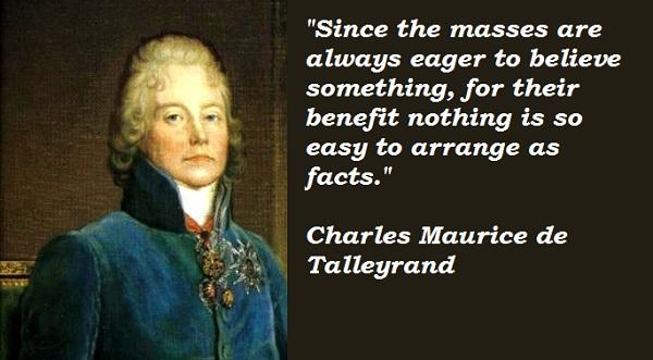 Charles Maurice de Talleyrand's quote #4