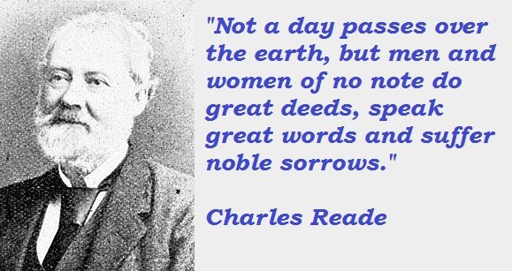 Charles Reade's quote #2