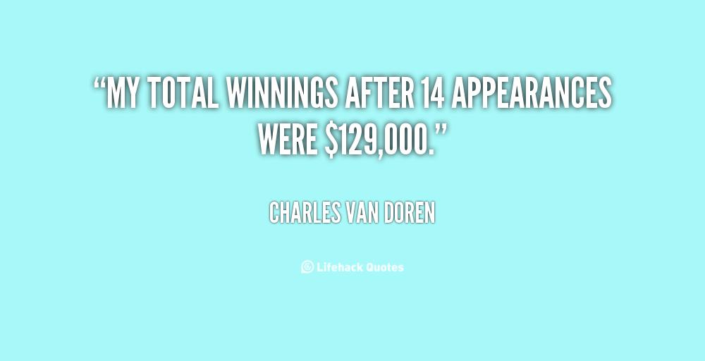 Charles Van Doren's quote #1